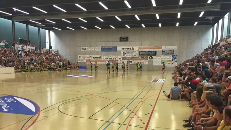 Impressionen vom Turnier 2016 mit dem erstmaligen Auftritt der Rhein-Neckar Löwen.