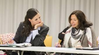 Barbara Deucher-Brändli und Nicole Lehmann Fricker verlangen nach einer Satzungsänderung.