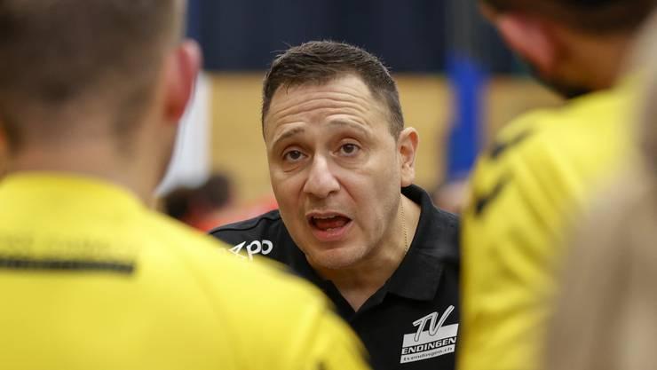 TVE-Trainer Zoltan Majeri will seine Mannschaft kämpfen sehen.