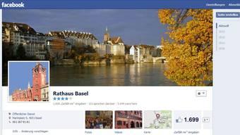Die offizielle Facebook-Seite von Basel-Stadt.