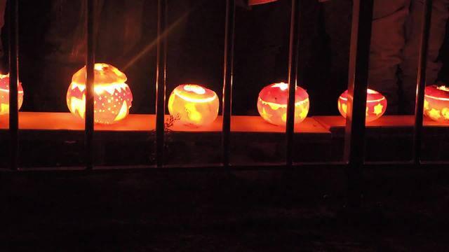 Am Donnerstagabend sind Dutzende Kindergärtler mit ihren selbst geschnitzten Räbeliechtli in die verdunkelte Brugger Altstadt eingezogen.