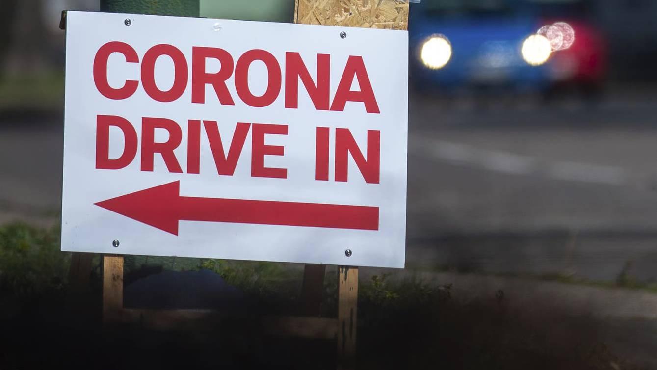 corona drive in