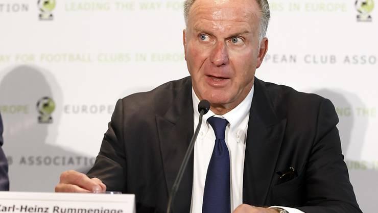 Karl-Heinz Rummenigge ist nicht mehr Vorsitzender der ECA