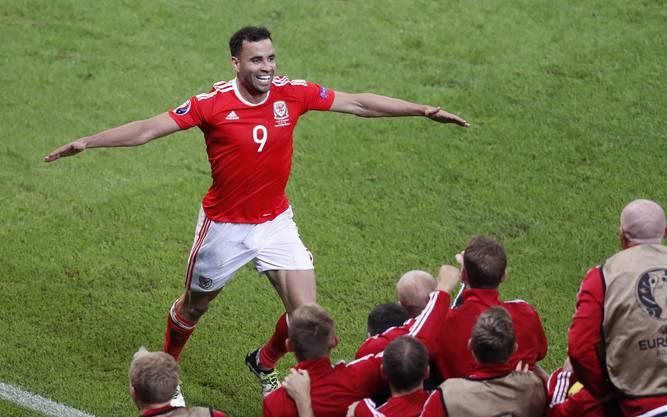 die Bilder der zweiten Hälfte Wales Belgien (1)