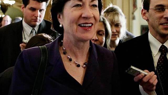 Susan Collins will Kompromiss zustimmen