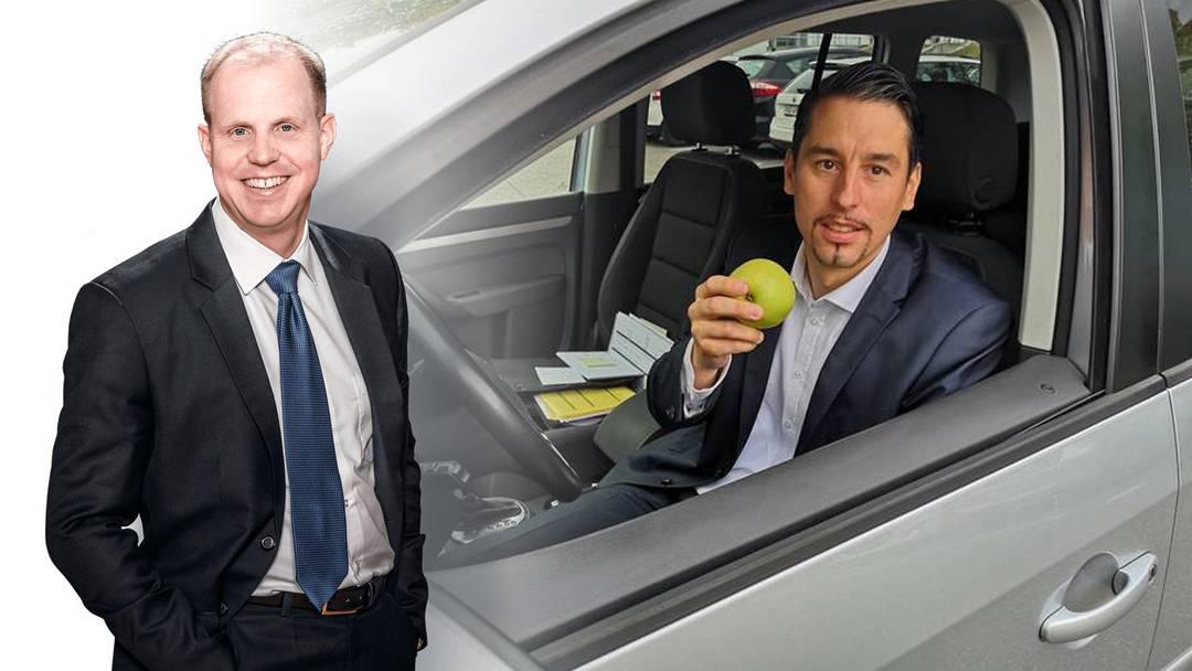 """Verkehrsrechts-Experte: """"Fahrer könnte den Apfel während der Fahrt essen"""""""