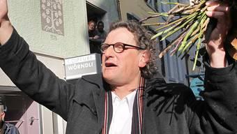 Geri Müller nach seinem Wahlsieg in Baden