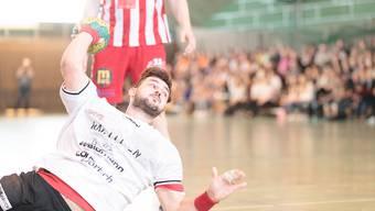 Karlo Ladan gewinnt mit dem TV Möhlin gegen den TV Solothurn.