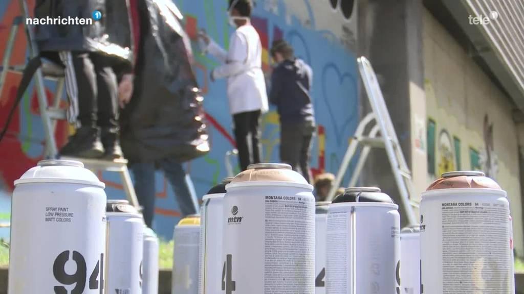 Neue Möglichkeit für legales Sprayen in Luzern