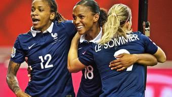 Eugénie Le Sommer schiesst Frankreich zum Sieg über Island (Archiv)