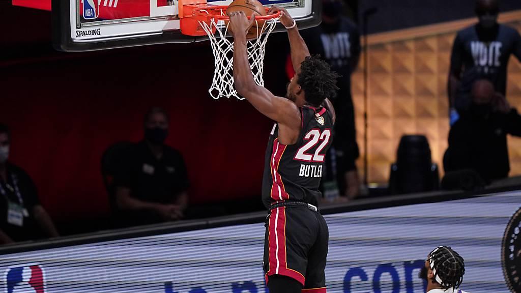 Miami Heat verkürzen in der Best-of-7-Serie auf 1:2 Siege