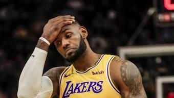 Superstar LeBron James ist ob des Todes von Kobe Bryant untröstlich