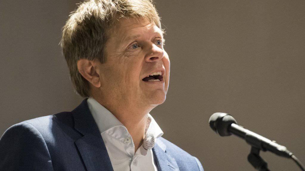 Es brauche mehr Grünliberale im Bundeshaus, sagt Parteipräsident Jürg Grossen. (Archivbild)