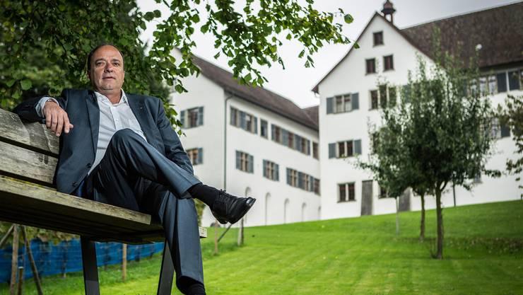 Markus Dieth reichte 2012 den Antrag beim Kanton ein, die Klosterhalbinsel ins Museum Aargau aufzunehmen.