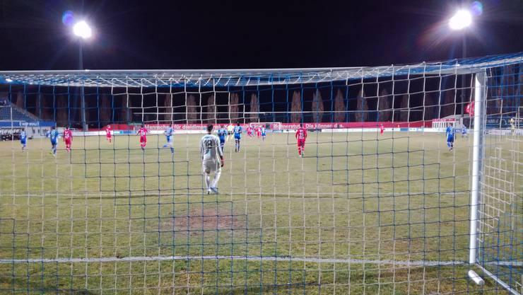 Der FC Wohlen verliert das Testspiel gegen Aarau mit 0:1.