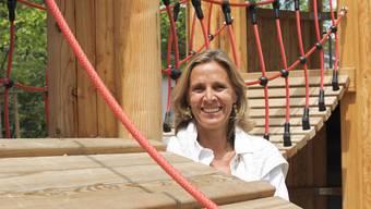 Die neu geählte LDP-Präsidentin Patricia von Falkenstein