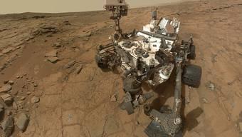 """Der Marsrover """"Curiosity"""" kann sich jetzt selbst Ziele für seinen Lasersensor aussuchen. (Archiv)"""