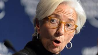 IWF-Christine Lagarde steckt in Schwierigkeiten.
