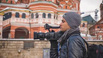 Propagandareise nach Moskau