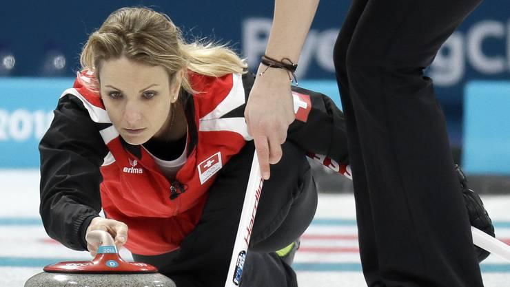 Der CC Aarau um Skip Silvana Tirinzoni nahm bereits an den olympischen Spielen in Pyeongchang teil.