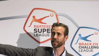 Weiter gehts: Die Swiss Football League mit CEO Claudius Schäfer hält am Fahrplan fest