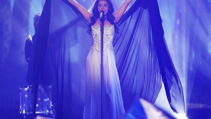 Melanie René hat die Schweiz am Eurovision Song Contest 2015 vertreten: Das Rennen um ihre Nachfolge läuft ab dem 2. November (Archiv).