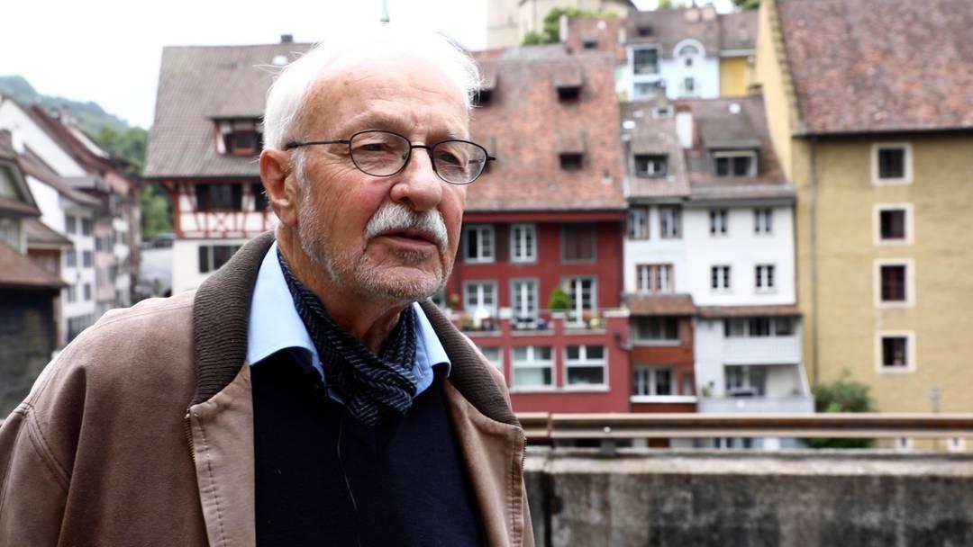 """""""Nein, weh tut es nicht"""": Der Fotograf Roger Kaysel hat dem Badener Stadtarchiv sein gesamtes Werk übergeben"""