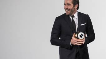"""Der amerikanische Schauspieler Jake Gyllenhaal wünscht sich eine öffentliche Diskussionskultur, die fundiert ist - statt dass jeder seine """"Sichtweise in die Welt hinausbrüllt"""". (Archiv)"""