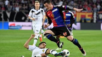 Taulant Xhaka hat sich im Spiel gegen Sion verletzt.
