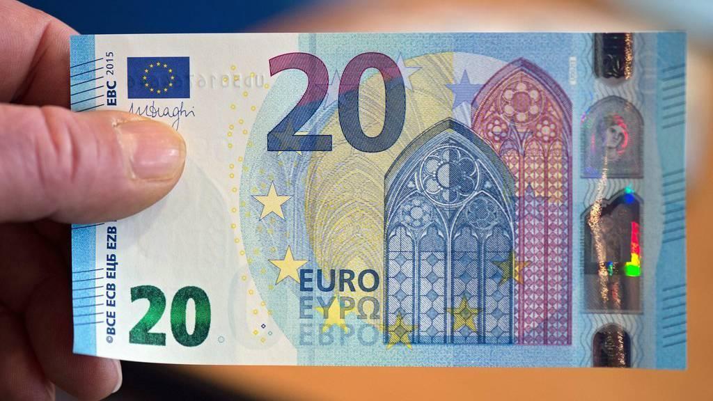 Das ist die neue Euro-Note.