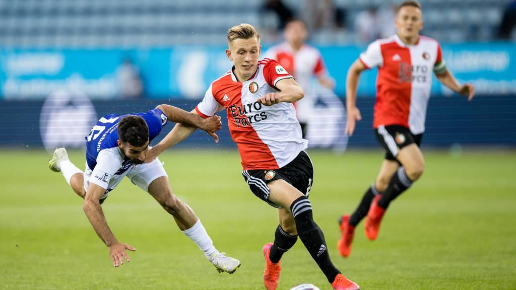 FC Luzern verliert gegen Feyenoord Rotterdam mit 0:3