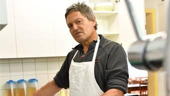 Der 59-jährige Claudio hat eine klassische Drogenkarriere hinter sich. Nun lebt er im Haus «Harmonie» in Langenbruck.