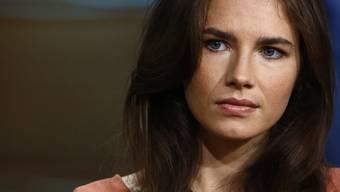 Die angeklagte US-Amerikanerin Amanda Knox