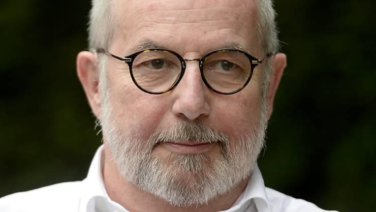 """Thomas Hürlimann im Juni dieses Jahres in Luzern anlässlich der Premiere des Freilichtspiels """"Das Luftschiff""""."""