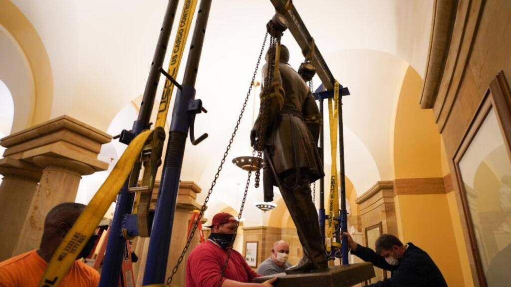 US-Repräsentantenhaus will rassistische Statuen aus Kapitol verbannen