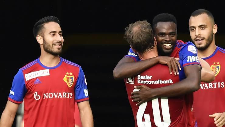 Der FCB gewinnt gegen Xamax zu Hause mit 2:0.