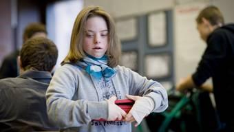 Elena Colicchio mitten im Schulalltag