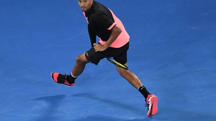 Talent, Showman und gelegentlich ein Flegel: Nick Kyrgios ist der grosse Hoffnungsträger des australischen Tennis