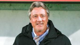 Erste Wahl oder lachender Dritter? Marco Schällibaum schaut nach vorne und peilt mit dem FC Aarau wieder erfolgreiche Zeiten an.