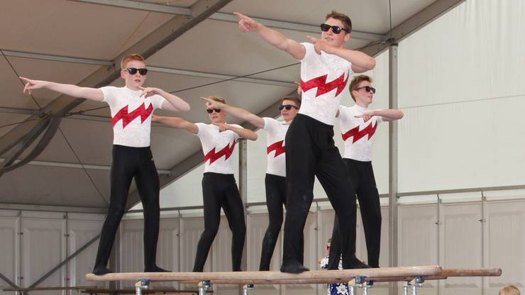 Vereinswettkampf Jugend mit STV Bellach. Foto: dh