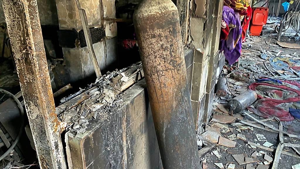 Schwerer Brand in Krankenhaus – mehr als 40 Tote