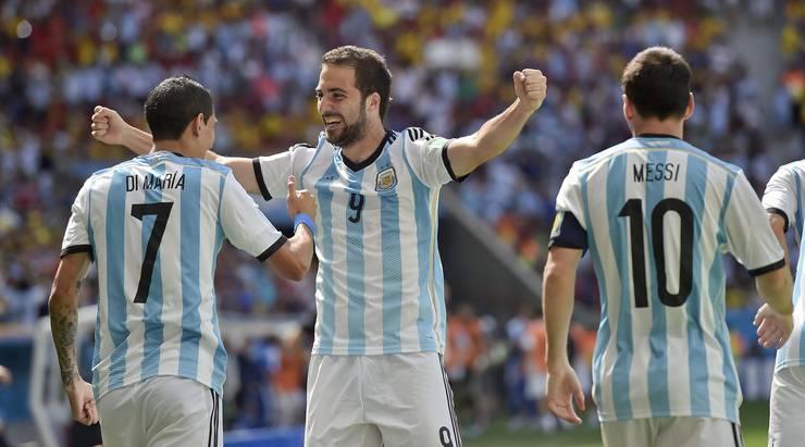 Higuain schoss in der achten Minute der einzige Treffer der Partie