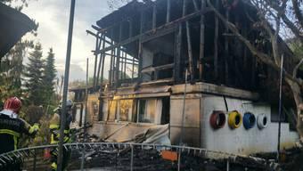 Haus in Endingen brennt nieder