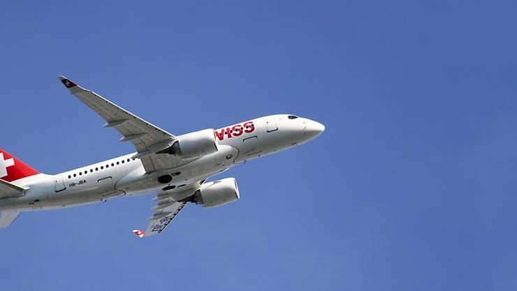 Swiss hat im Juli 2,9 Prozent mehr Passagiere befördert. (Archivbild)