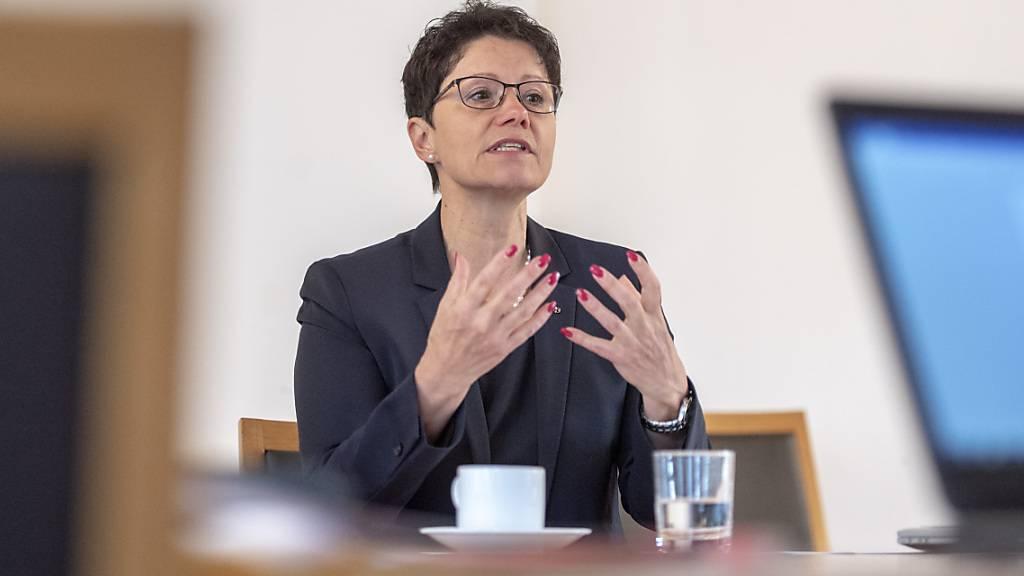 Obwaldner Finanzdirektorin kandidiert erneut für Regierungsrat