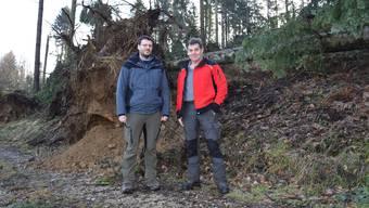 Uerkental: Sturm Burglind hinterlässt Schlachtfeld