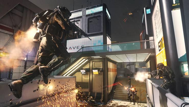 Ballergames wie Call of Duty steigern die Lernfähigkeit, sagen Forscher.