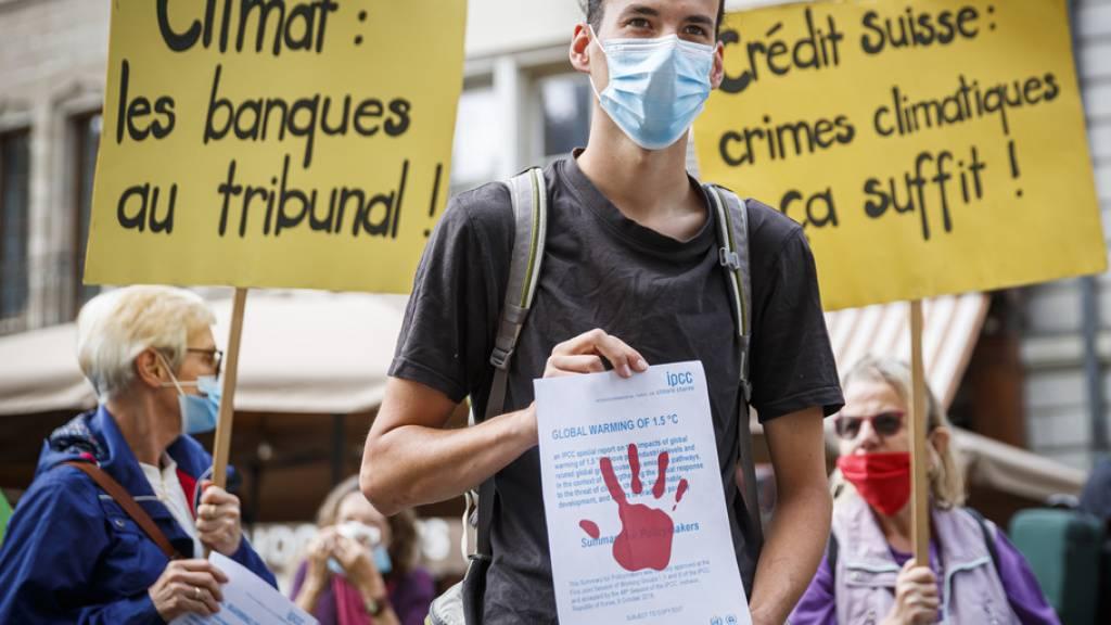 Bundesgericht muss über Genfer Klimaaktivisten urteilen