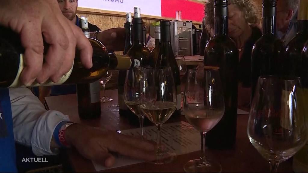 Fête des Vignerons: Aargauer-Tag trotz drohendem Gewitter gelungen