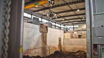 Im Vergärwerk Werdhölzli wird aus Bioabfall Gas.